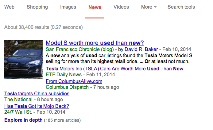 google news do your own PR image