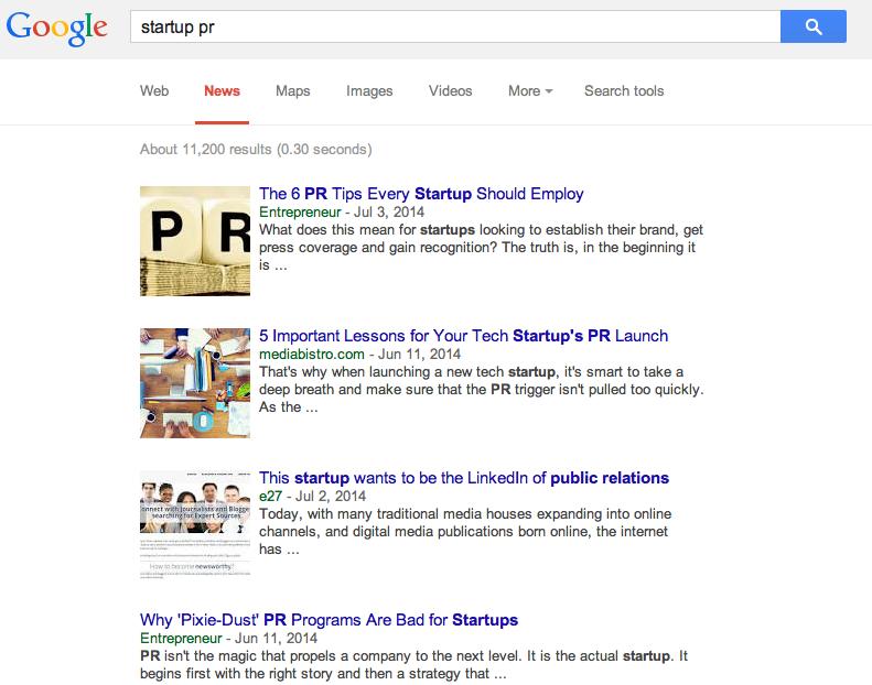 google news growth hacking tactics example
