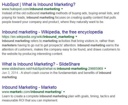"Search results for ""inbound marketing"""