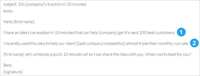 Cold Email Templates Which Guarantee A Response | PR Outreach and Cold ...