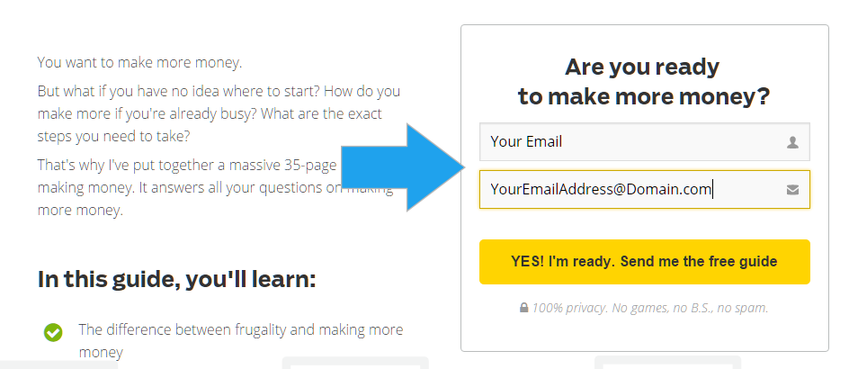 newsletter method - how to find anyone's email